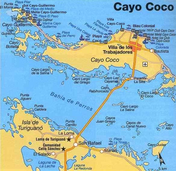 cuba, cayo coco, informations voyages, plage, ckoi, etienne dano